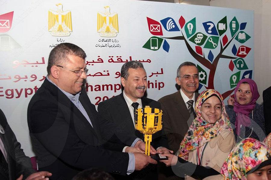 الصم يحصدون الجوائز بمسابقة الروبوت بمصر