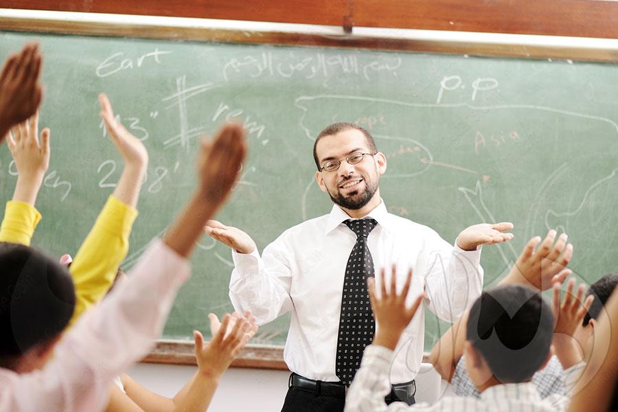 ليضع المعلم منهجه الدراسي