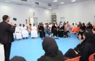 المتطوعون في مخيم الأمل 28 ملتزمون بالمسؤولية المجتمعية والتوعية بها