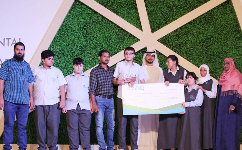 الخدمات الإنسانية تفوز بالمركز الأول لإعادة التدوير في جائزة المدارس للتميز البيئي
