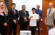 تخريج 12 طالباً من مدرسة الوفاء لتنمية القدرات بالرملة أنهوا تدريبهم في فندق سويس بالهوتيل بالشارقة