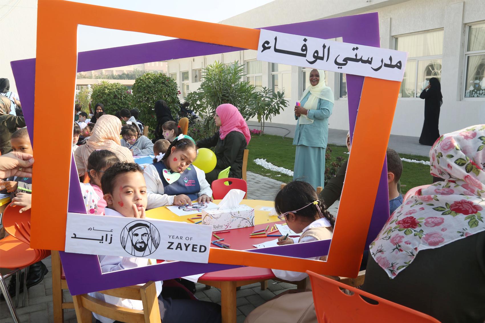 267 طالباً يلتحقون بفصول مدرسة الوفاء لتنمية القدرات