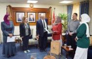 بحث سبل التعاون بين (الخدمات الإنسانية) وعدد من الجامعات الأردنية