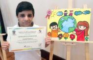 طلابُ الخدماتِ الإنسانية يفوزون بمسابقةِ الرسمِ البيئي