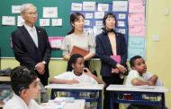 قنصلُ عام الجمهوريةِ الكوريّةِ يثني على قوّةِ العلاقةِ مع (الخدماتِ الإنسانية)