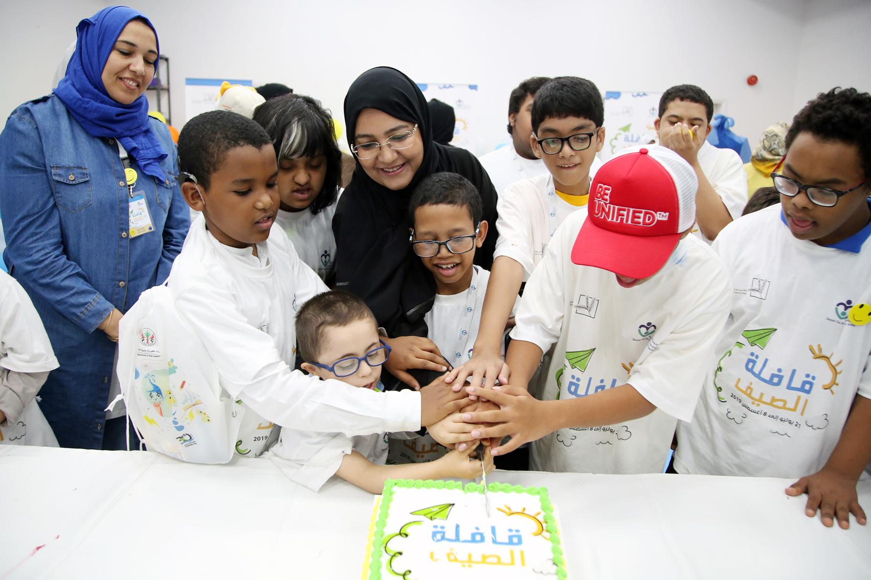 اختتام فعاليات قافلة الصيف في مدينة الشارقة للخدمات الإنسانية