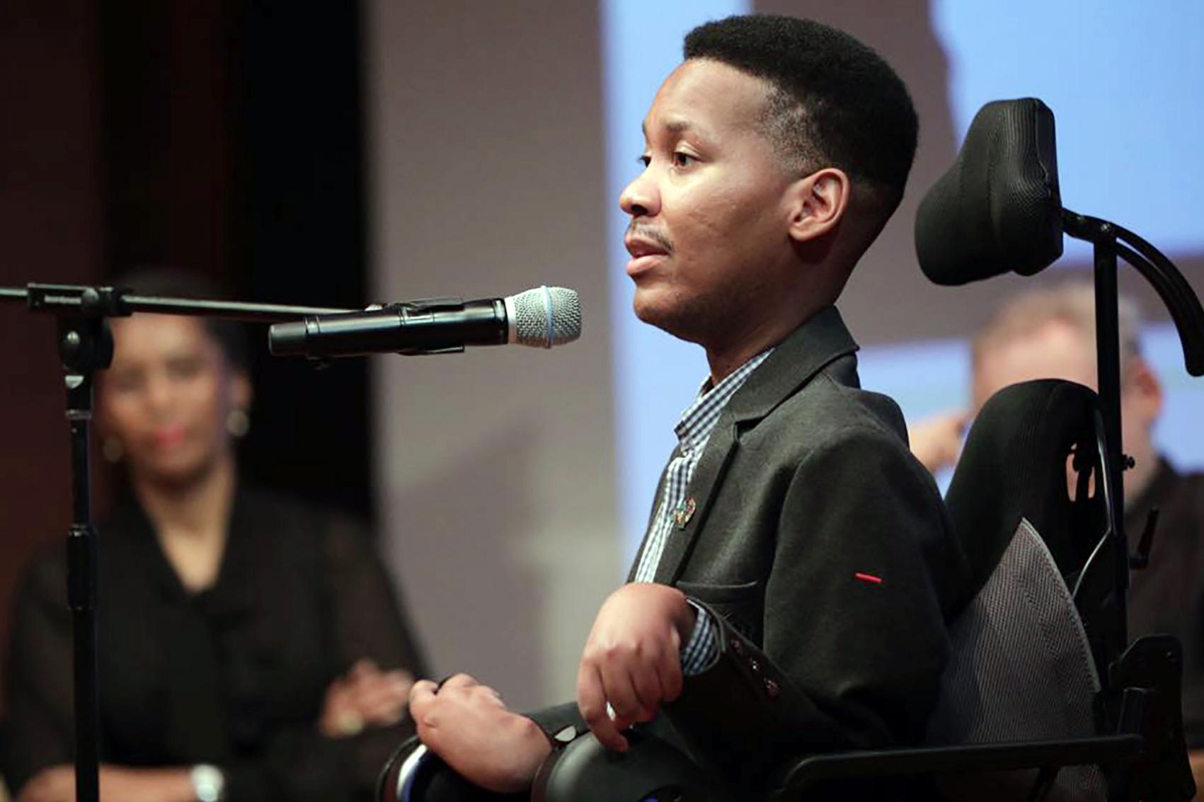 لا حدود لما يمكن للأشخاص ذوي الإعاقة إنجازه
