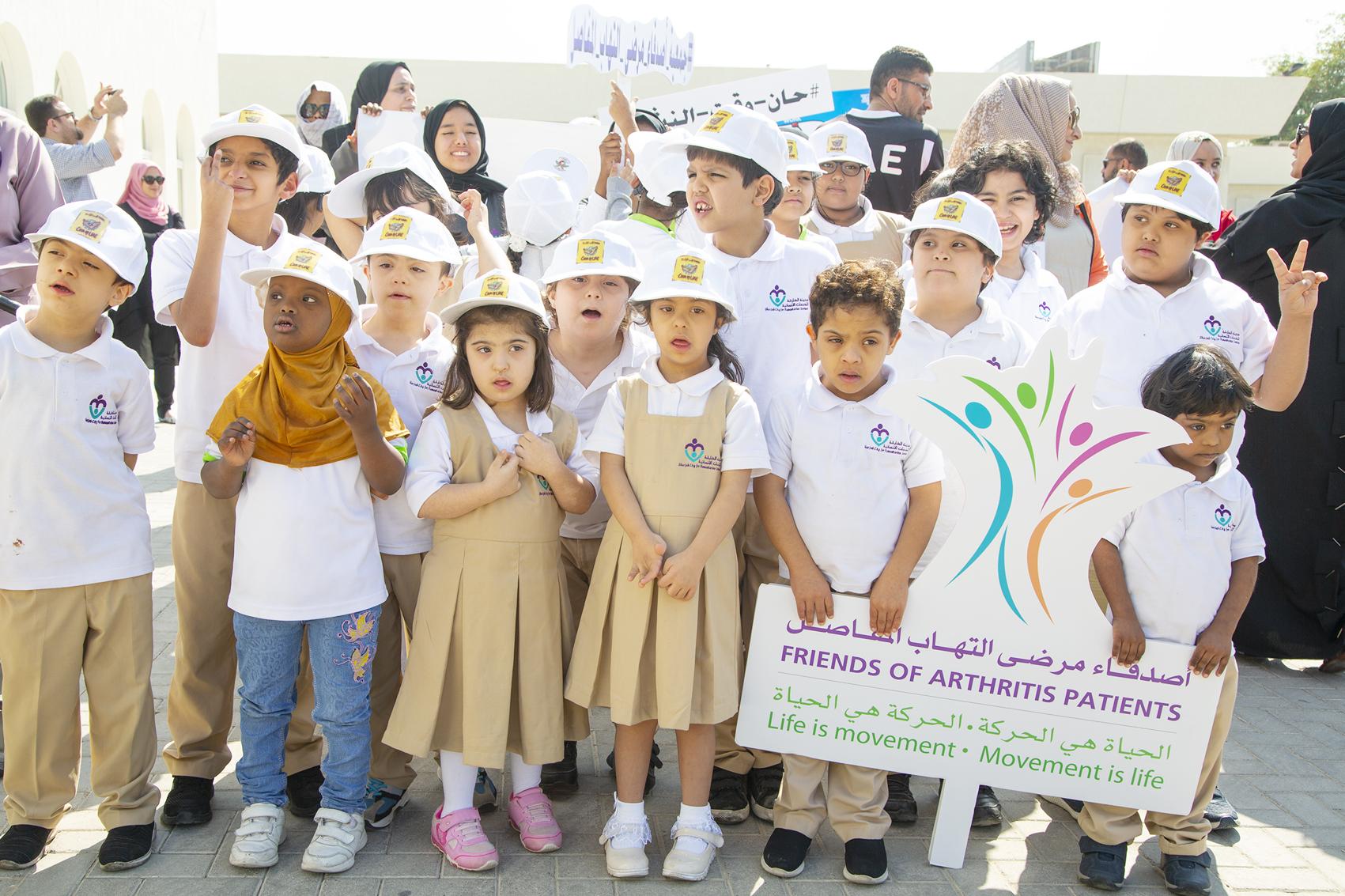الخدمات الإنسانية تحتفل باليوم العالمي للعلاج الوظيفي