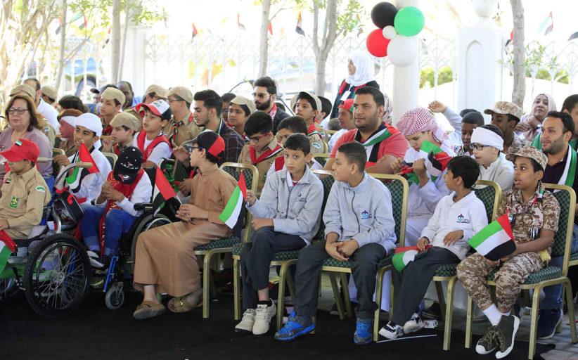 احتفالات اليوم الوطني الـ 48 في الخدمات الإنسانية